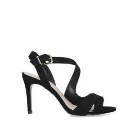 Carvela Lossy - Black Stiletto Heel Strappy Sandals