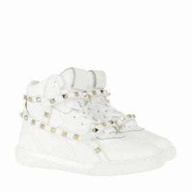 Valentino Sneakers - Rockstud High Top Sneakers Bianco - white - Sneakers for ladies