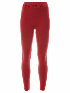 Nagnata Laya knitted leggings - Red