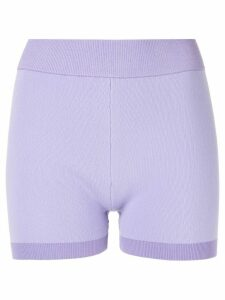 Nagnata Yoni mini compression shorts - PURPLE