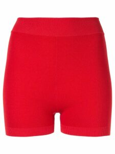 Nagnata Yoni mini compression shorts - Red