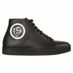 Versus Versace Lion Head High-top Sneakers