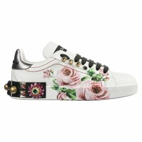Dolce & Gabbana Shoes Leather Trainers Sneakers