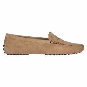 Tods Suede Loafers Moccasins Gommini