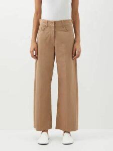 Maharishi - Leopard And Camo-print Cotton-twill Cargo Trousers - Womens - Leopard