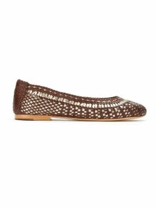 Serpui leather ballerinas - Brown