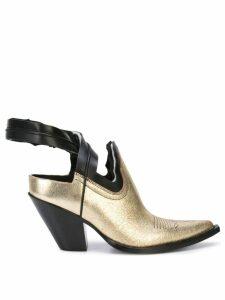 Maison Margiela mule boots - Gold