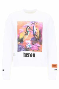HERON PRESTON Heron Birds Sweatshirt