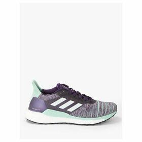 adidas Solar Glide Women's Running Shoes, Legend Purple/FTWR Whtie/Clear Mint
