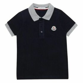 Moncler Enfant Cotton Piqu Polo Shirt