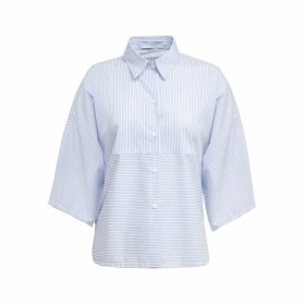A-line Clothing - Short Stripe Shirt