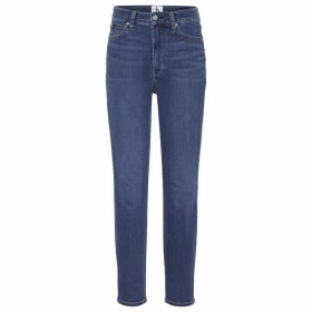 Calvin Klein Jeans 010 High Rise Skinny Jeans - Icon Drk Stone