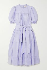 F.R.S For Restless Sleepers - Pistis Floral-print Silk-twill Shirt - Pink