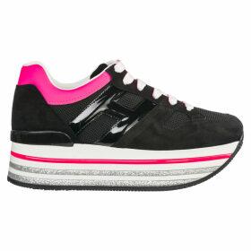 Hogan Maxi H222 Wedge Sneakers