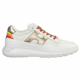 Hogan Shoes Leather Trainers Sneakers Interactive3