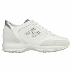 Hogan Shoes Leather Trainers Sneakers Interactive