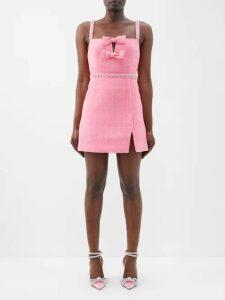 A.P.C. - Alba Pleated Denim Dress - Womens - Blue