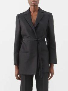 Bottega Veneta - Detachable-collar Cotton-poplin Shirt - Womens - White