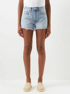 Prada - High Neck Silk Blend Technical Satin Blouse - Womens - Green