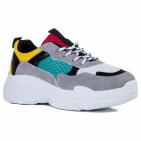 Spylovebuy  Toucan  women's Shoes (Trainers) in Yellow