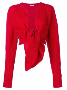 Miu Miu Wool cardigan - Red