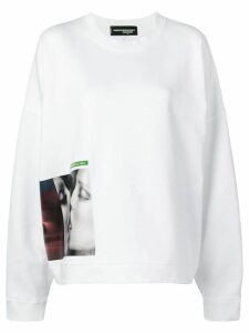 Dsquared2 x Mert & Marcus 1994 graphic print sweatshirt - White