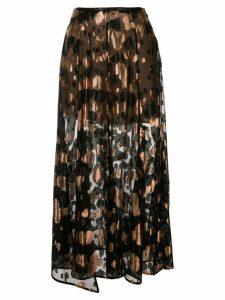 Petar Petrov Roxy jacquard maxi skirt - Black
