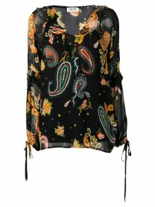 LIU JO Safari Garden Party blouse - Black