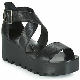Sweet Lemon  SUBWAY  women's Sandals in Black