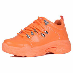 Spylovebuy  Magnesia  women's Shoes (Trainers) in Orange