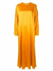 Roksanda long-sleeve maxi dress - Yellow
