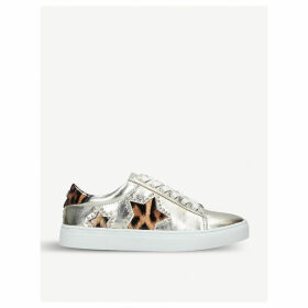 Lucie metallic trainers