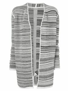Rick Owens Dirt striped cardigan - White