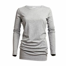 Cove - Grey Long Length Tee