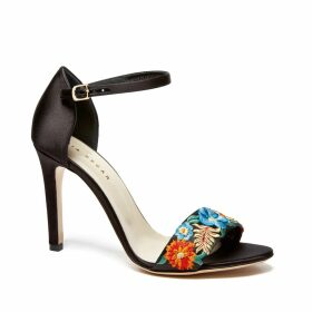 Justine Hats - Wide Brim Boater Straw Hat