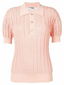 Courrèges knitted top - PINK