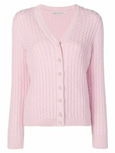 Alessandra Rich knitted cardigan - Pink
