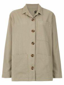 Osklen overzised shirt - Neutrals