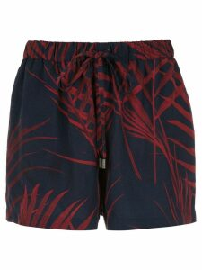 Osklen printed shorts - Blue