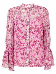 Michael Michael Kors floral print shirt - PINK