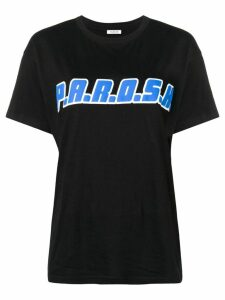P.A.R.O.S.H. logo print T-shirt - Black