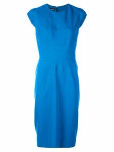 Narciso Rodriguez sleeveless midi dress - Blue