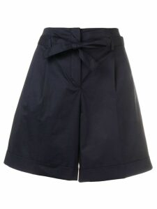 PS Paul Smith high waisted shorts - Blue