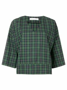 Société Anonyme flare styled blouse - Green