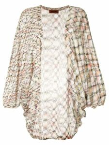 Missoni long open front cardigan - Multicolour