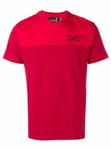 Raf Simons X Fred Perry chest logo T-shirt