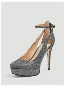 Guess Harrie Glitter Court Shoe
