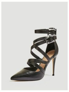 Guess Ofelie Real Leather Court Shoe