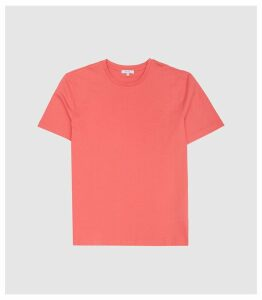 Reiss Bless - Crew Neck T-shirt in Rose, Mens, Size XXL