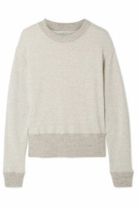 James Perse - Cotton-blend Terry Sweatshirt - Mushroom
